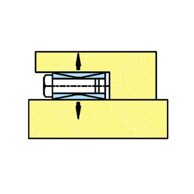 配合軸環之軸徑、孔徑公差表